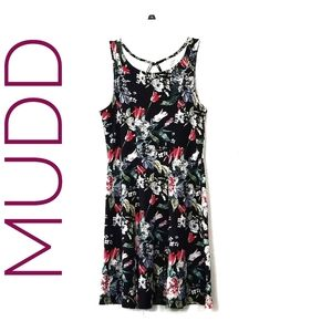 MUDD Floral Fit and Flare Dress Juniors
